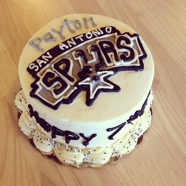 Birthday Cakes For Dogs San Antonio Tx ~ Best images about spurs cake on pinterest birthday cakes basketball and birthdays