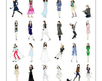 Kate Middleton duchessa di Cambridge Fashion Poster di RepliKateIt