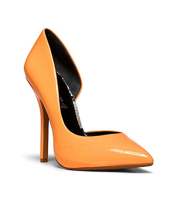 Orange is big for Spring/Summer 2014 - Steven by Steve Madden