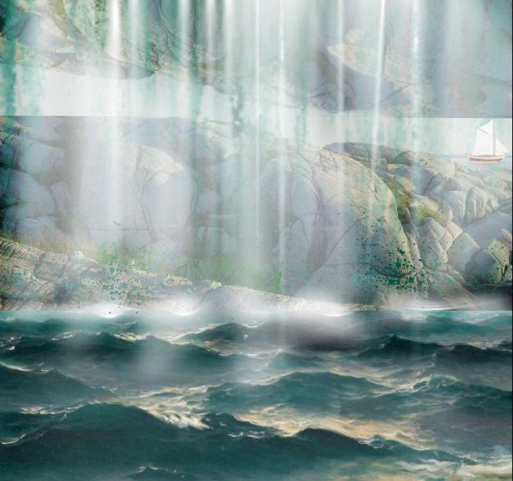 'My #hiddenwaterfalls ..' created by Bracha Alterovich in #neybers