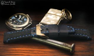 Curele de ceas, din piele, handmade. Topouzelli Straps.: Curea de ceas T 873