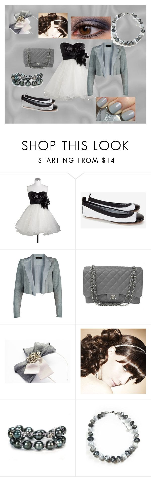 """randomness#4"" by faleur102 ❤ liked on Polyvore featuring Urban Decay, Yosi Samra, Diesel Black Gold, Chanel, Jordan Alexander and Minuet"