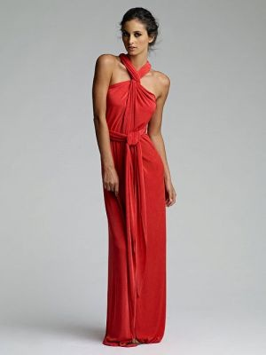 VINTAGE ORIGIN Maxi Length Infinity Dress in by LindseyAnneBurris   http://mylusciouslife.com/colour-me-coral/