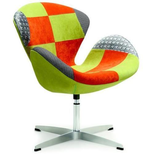 HALMAR Fotel patchwork RAINBOW Fotel relaksacyjny patchwork Halmar Rainbow. Wymiary:  Szerokość: 75Głębokość: 65Wysokość: 75Ma... - sprawdź ceny