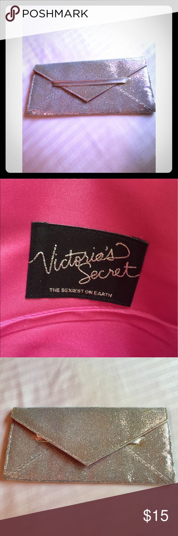 Victoria's Secret Sparkly Clutch! Brand new, and totally adorable. Great for a night out! Victoria's Secret Bags Clutches & Wristlets