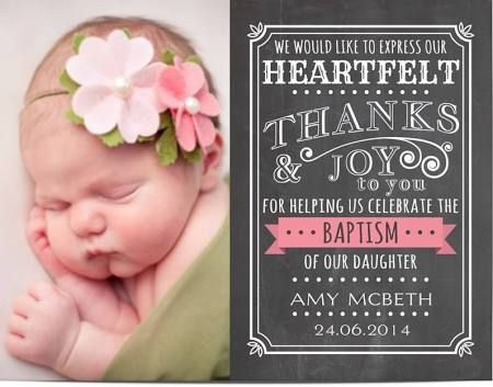 The 25+ best Baptism thank you cards ideas on Pinterest ...