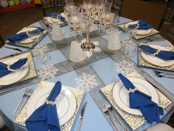 Ordinary Winter Wonderland Table Settings Part - 4: Winter20table2021.jpg (3264×2448) · Party ThemesCare HomesTable  SettingsWinter WonderlandGroundsCenterpiecesPromDrinksBeads