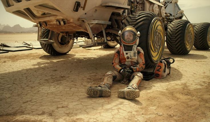 The Martian is about a man, Mark Watney (Matt Damon), who finds himself stranded on Mars after his team was forced to leave him behind after a fierce storm and the people from NASA who make effort ...