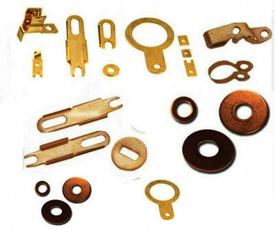 #BrassSheetMetalComponents  We are recognized as a leading manufacturer and exporter of a wide range of #BrassSheetMetalComponents. These are manufactured by using high quality brass material. Our components are widely demanded in electrical, electronics, automobile, telecom and plastics industries. These are available in various colors, sizes as per the client's requirements.