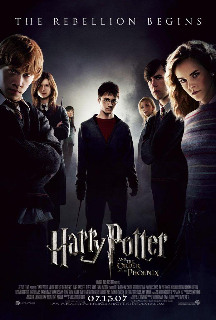 Harry Potter And The Order Of The Phoenix 2007 Izle Film Harry Potter Film Afisleri