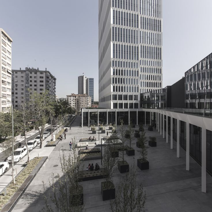 Gallery of AND Office Tower / HPP Architects - 9                                                                                                                                                                                 More