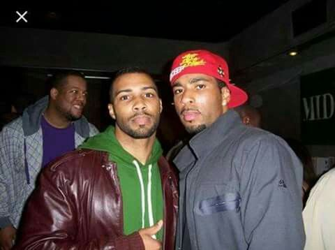 Good lawd it's two of 'em! Omari Hardwick & his brother ...