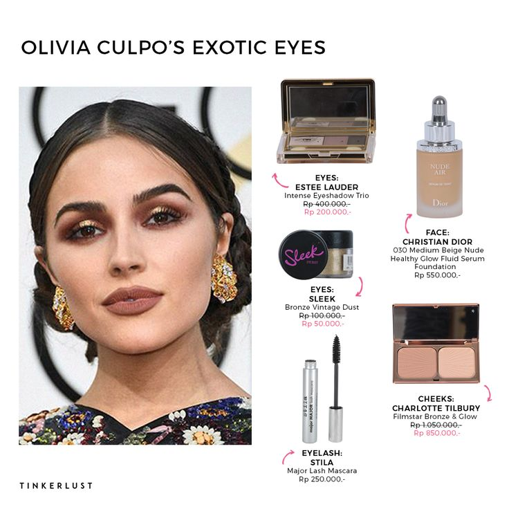 Today we have amazing eye look from Olivia Culpo. Try this amazing eye make up Ladies and got the stuff at https://goo.gl/zzq711