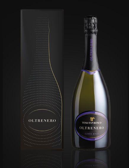 Tenuta il Bosco Oltre Nero - by CBA Italy #packaging #design #branding #wine