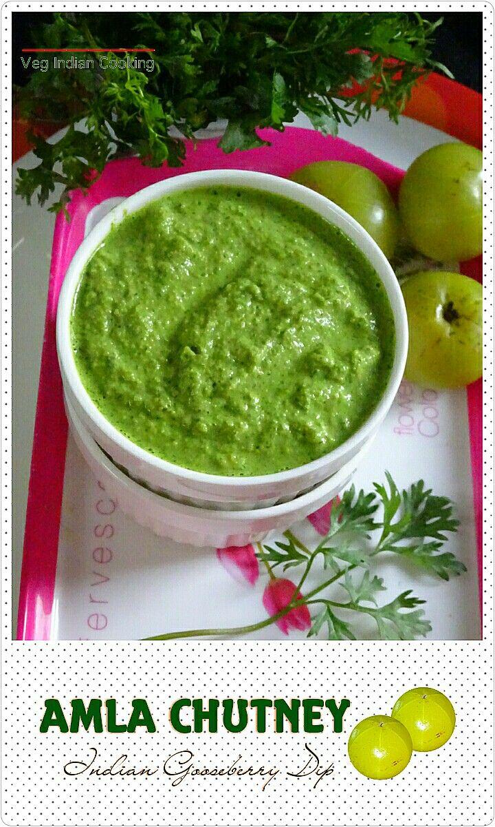 How to make Amla Ki Hari Chutney, Amla coriander chutney,  Indian Gooseberry & Coriander Chutney..       Amla  aka Indian Gooseberry is ...