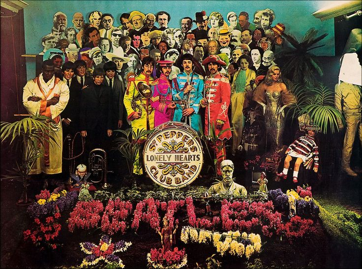 The iconic album cover for Sgt. Pepper's Lonely Hearts Club Band was photographed fifty years ago, March 30,1967.