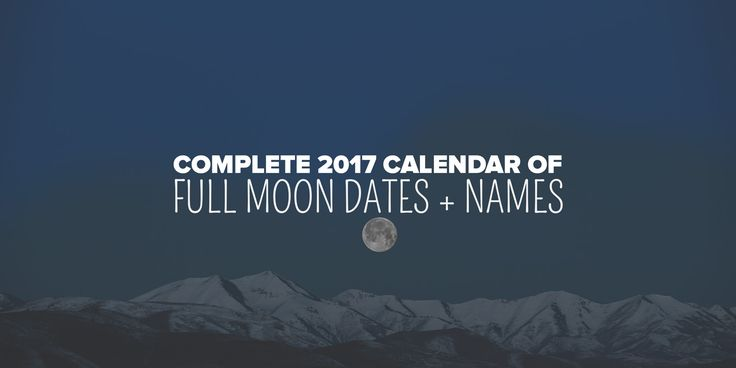 When are the full moons in 2017? Plan your next year of Esbats, thankfulness rituals, full moon healings, or catching the next perfect photograph of our beautiful moon with this 2017 full moon calendar of full moon dates. Find the date of the next full moon, here! Be sure to bookmark and share our list of full moon dates. 2017 … wicca pagan paganism wiccan esbat esbat dates full moon dates full moon calendar | #PlentifulEarth