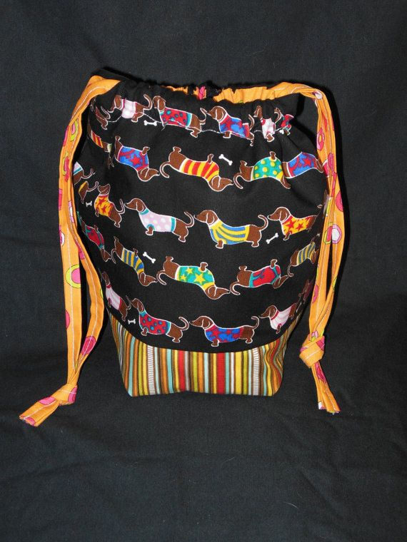 Project Bag  great for knitting or needlepoint by 123carorose, $20.00 SOLD