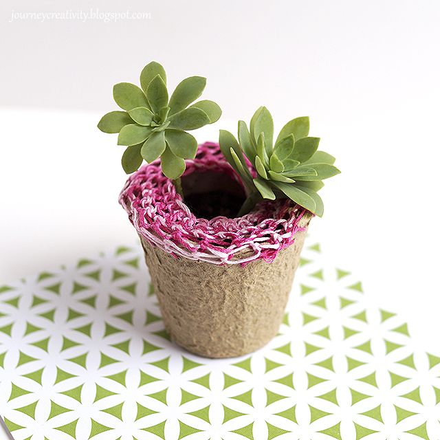 Journey into Creativity: Crochet pot