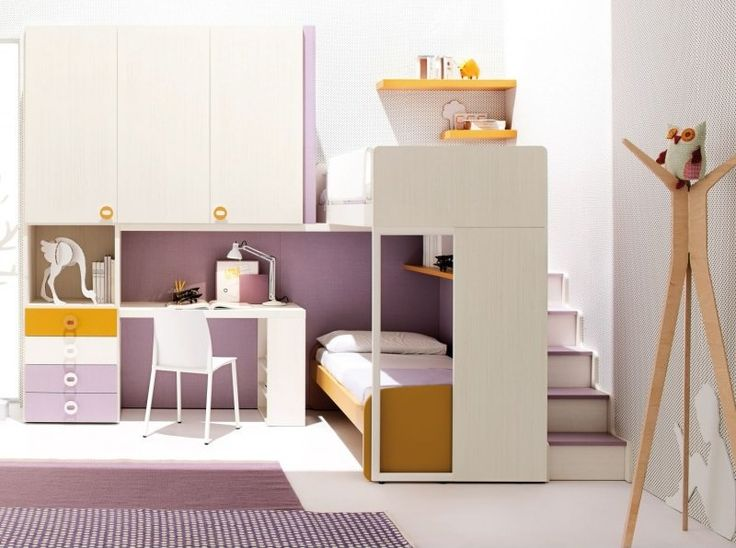 30 best loft beds images on Pinterest | Bedrooms, Nursery and ...