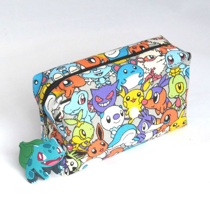Pochette Pockets Monsters via Alice Chouquette. Click on the image to see more!