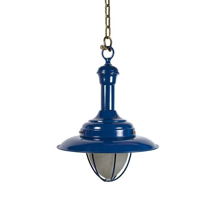 Lámpara náutica de pescador con protección