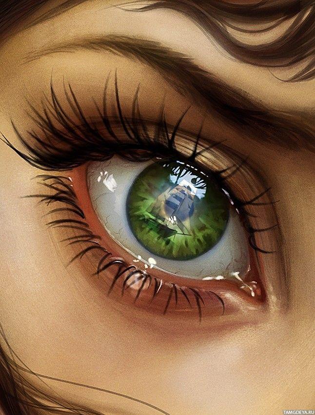 Картинки аватарки глаза