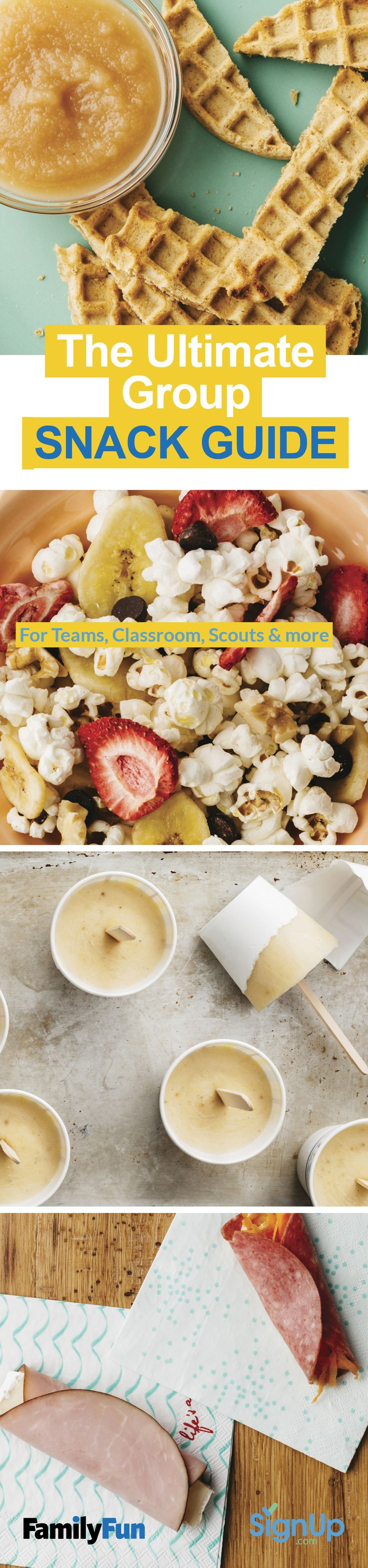 Free EBook: Snack Guide For Teams, Classrooms, Scouts U0026 More From FamilyFun  Magazine