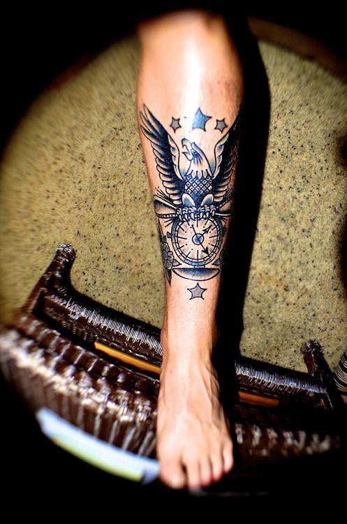 Tattoo By Drake Sheehan American Vintage Orange CA
