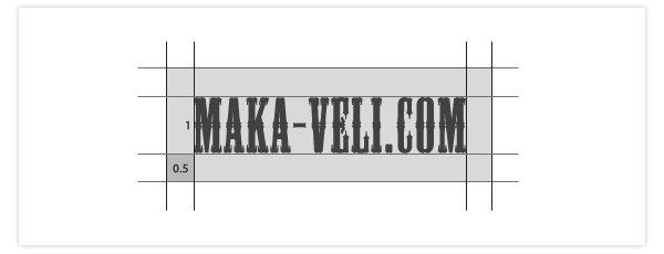 ロゴの扱い方でプロとアマの差が出る。アイソレーションゾーンとレギュレーション・ビジュアルアイデンティティについて / Maka-Veli .com
