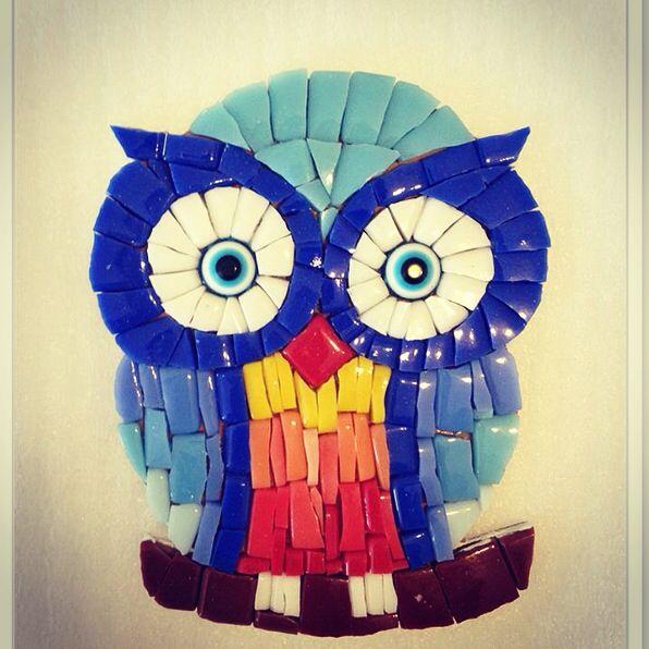 Mosaic owl www.arassta.com