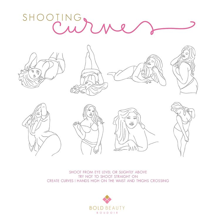 Colorado Springs Boudoir Photography | Shooting Curves Posing Guide for Plus Size  Bold Beauty Boudoir