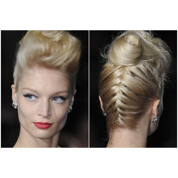 21 best Runway Hairstyles images on Pinterest | Hair dos, Catwalk ...