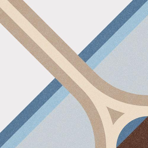 1900: Montaner Azul - 20x20cm. | Floor Tiles - Gres | VIVES Azulejos y Gres S.A.