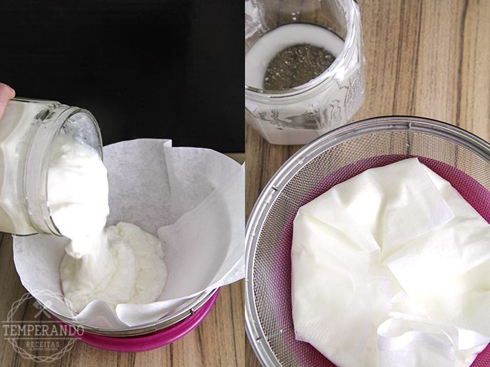 KEFIR DE LEITE - UM MANUAL BÁSICO de como cultivar Kefir de Leite| temperando.com #kefir #probiotico