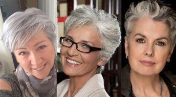Gelukkig is een grijze haarkleur helemaal HOT, maar ook met een natuurlijke grijze haarkleur kan een trendy kort kapsel prachtig staan! Laat je ook verbazen door deze 10 prachtige voorbeelden van trendy korte kapsels in natuurlijk grijs haar!