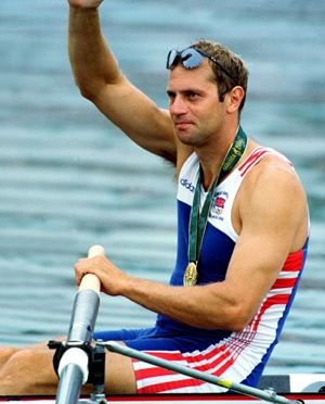 Sir Steve Redgrave. Winner of 5 Gold medals at 5 consecutive Olympic Games. The greatest Olympian, the greatest athlete. AND he has Type 1 diabetes, AND he has run the London Marathon 3 times since retiring from rowing. The man is nothing short of a legend