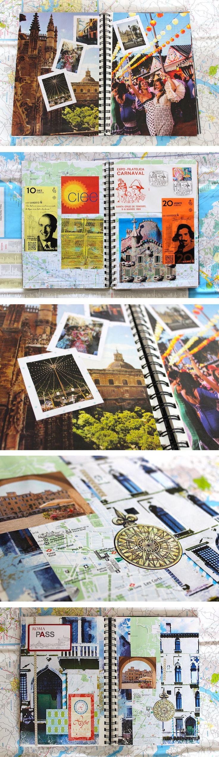 Europe Travel Diary Art