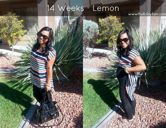 14 Weeks - Bump Style #babyfoley2015 #thefoleyfamblog