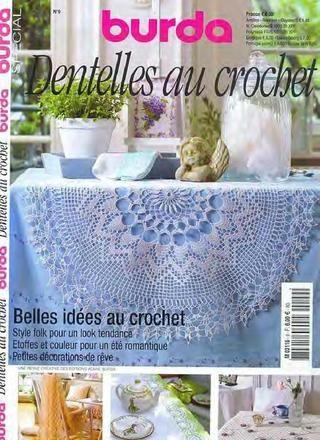 Журнал - Burda Special. (E937) Вязание крючком + ОнЛайн