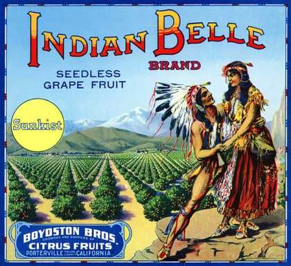 FOOD: Indian Belle Grapefruit (1916)