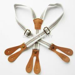 [ 46% OFF ] New Design Kids Button Suspenders Children Elastic Braces Children Suspenders Apparel Accessories 5Pcs/lot