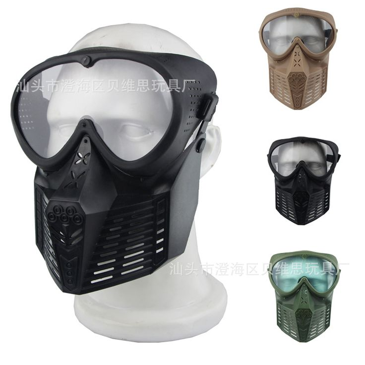 CS field protective Outdoor predator paintball mask equipment lens Full Face protective mask masks scary airsoft B7