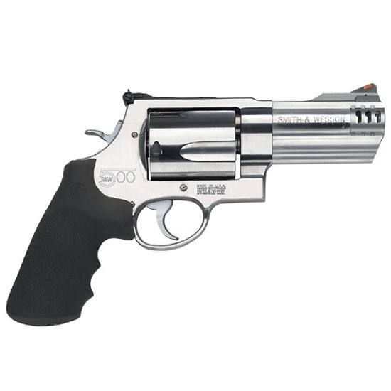 S&W 500 Revolver .500 S&W Magnum 4 Barrel 5 Rounds Synthetic Grip Satin Finish 163504