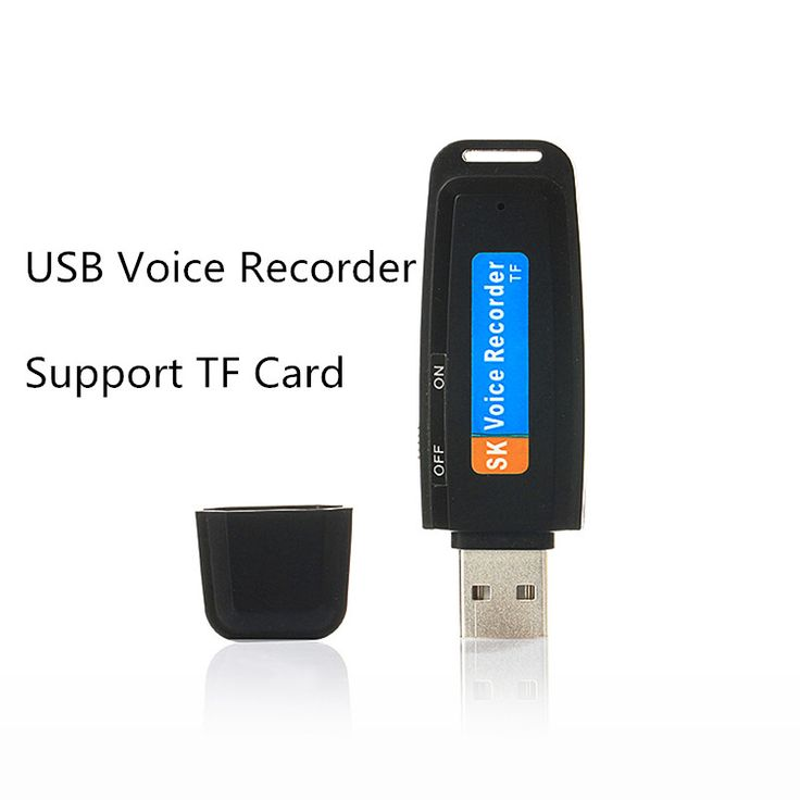 Mini USB Audio Voice Recorder Pen USB Flash Drive  with TF Card Slot Max support to 32GB Free shipping