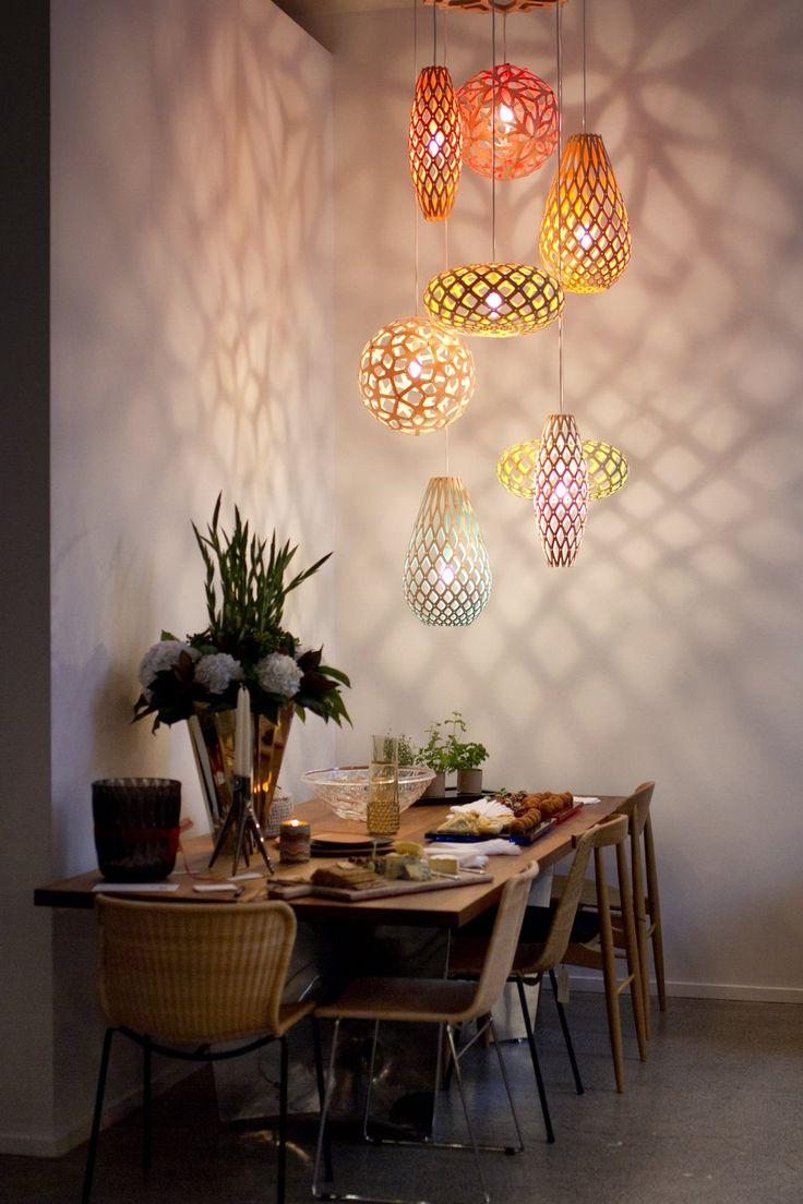 A Cluster Of David Trubridge Mini Lights Makes Everything