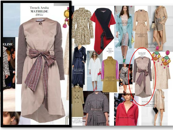 Creatia Trench Aruba, Mathilde in pagina de recomandari a revistei Tango, editia de Martie 2014