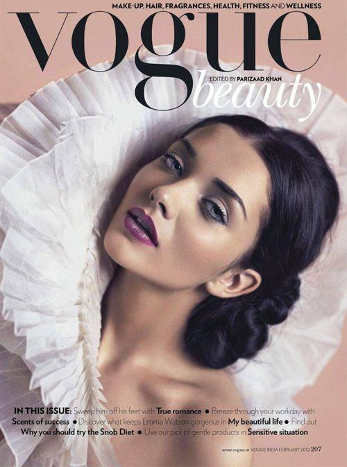 Amy Jackson by Charl Marais for Vogue India, February 2012. Gorg!!!!