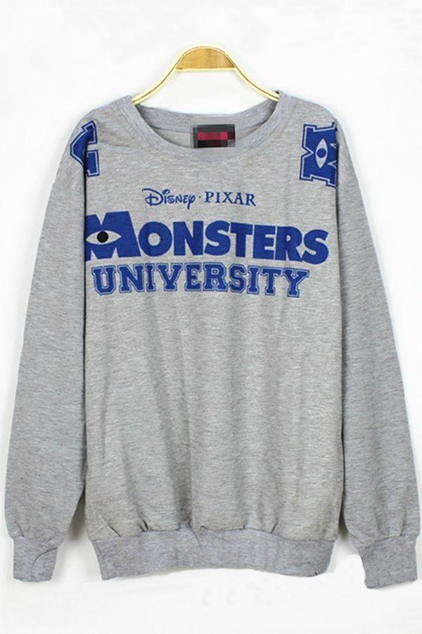 Monsters University sweatshirt
