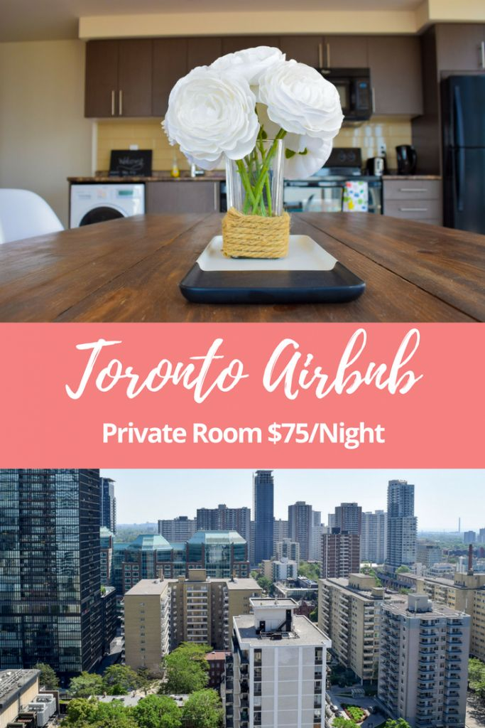 Toronto Airbnb for $75 USD a night in Yorkville via @thethoughtcard